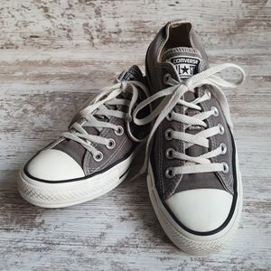 Converse All Star Gray Canvas Sneakers